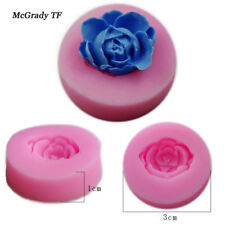 ROSE FLOWER Silicone Fondant Cake Topper Mold Mould Chocolate Candy Baking