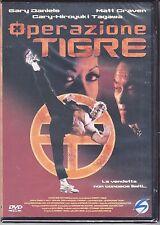 Dvd **OPERAZIONE TIGRE** con George Cheung Matt Craven nuovo 1996