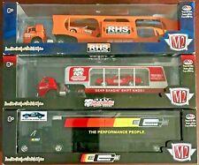 M2 Machines Auto-Haulers #36000R30 1:64 Scale Diecast (Complete set of 3)