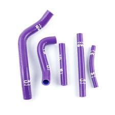 For 1996-2000 SUZUKI RM 250 RM250 96-00 Purple Silicone Radiator Hose Pipe