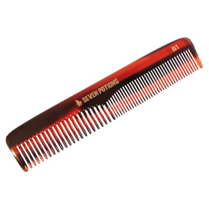 Seven Potions Beard Comb for Hair & Beard Handmade Use As Pocket Comb