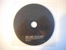 RENE AUBRY : SEULS AU MONDE [ CD SINGLE PORT GRATUIT ]