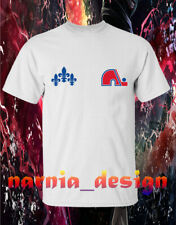 New Design Quebec Nordiques Logo T shirt  Men's Clothing S-3XL