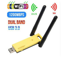 802.11ac AC1200Mbps USB 3.0 Dual Band 2.4G/5G Wifi Adapter Wireless Network Card