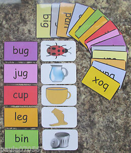 Colours, first words and pictures flash cards 9.5cm x 5.5cm Learning Read!