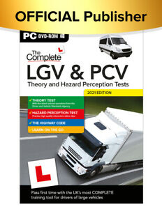 The Complete LGV & PCV Theory & Hazard 1a 1B  2021. (PC DISK)