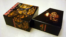 Iron Maiden Piece Of Mind PROMO EMPTY BOX for jewel case, mini lp cd