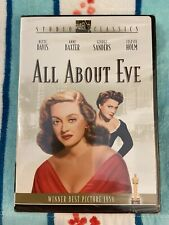 All About Eve (Dvd, Studio Classics, 1950)
