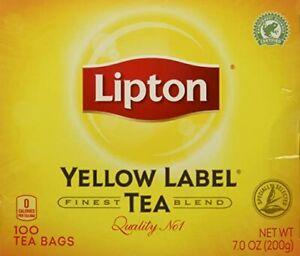 Lipton Yellow Label Tea 100 tea bags