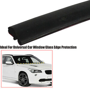 10M Automotive Weather Stripping Rubber Seal Tape Front Rear Window Edge Guards