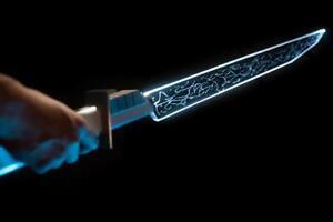 Star Wars Darksaber Metal Hilt W/ Blade & Electronics Mandalorian Lightsaber LED