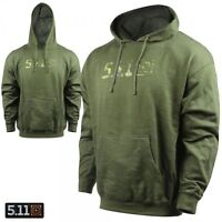 5.11 Tactical Fatigue Green Camo Hoodie / Hooded Sweatshirt - Choose Size - NEW!
