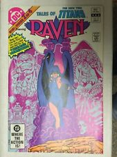 Tales Of The New Teen Titans #2 Nm- Dc 1982 Raven * Free Shipping *