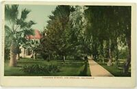 1900's Figueroa Street View Los Angeles California CA Undivided Back Postcard