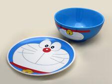 Hong Kong MacDonald Doraemon Ceramic Tableware Set 2017 - 2 Pieces Plate & Bowl