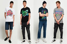 Superdry Mens Acid Graphic Mid Weight Oversized T-Shirt