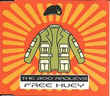 BOO RADLEYS Free Huey UNRELEASED & REMIX Europe CD Single SEALED USA seller 1998