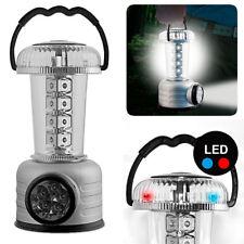 Lanterna Camping Multifunzione 24 LED Freddi Lampada Torcia Campeggio e Bussola