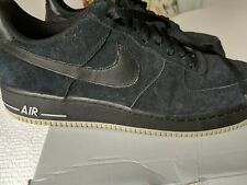 Men's Nike Air Force 1 Sneakers 41-14333-9-04 Navy blue suede Size 13