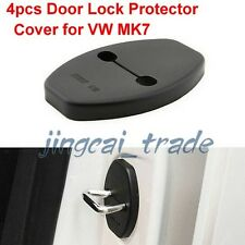 4 Door Lock Protector Cover Anticorrosion for VW Volkswagen Golf 7 MK7 2010~2014