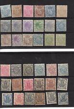 España. 2 fichas con 36 sellos fiscales nuevos