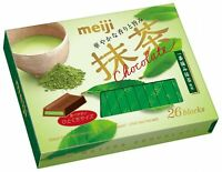 Meiji, Matcha Chocolate, 26 pc in 1 box, 120g, Japan Candy