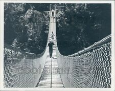 Lynn Canyon Suspension Bridge North Vancouver BC Canada Press Photo