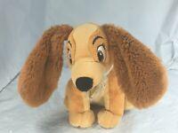 "7"" Disney Lady Plush from Lady and the Tramp Puppy Dog Stuffed animal FS EUC"