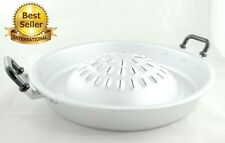 """12"""" 30cm THAI LAO KOREAN WOK PAN Only STYLE BBQ Grill TOPPER ALUMINUM Cook Ware"""