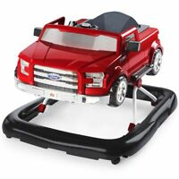 Bright Starts Baby Walker 3 Ways to Play Ford F-150 Red Walk Learning K10630