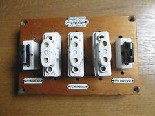 ancien tableau électrique bois déco atelier industriel old french vintage