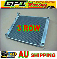 3 rows aluminum radiator for Nissan Fairlady 300zx z32 Twin Turbo AT Automatic