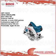 BOSCH-B SEGA CIRCOLARE GKS190  1400W ART. 94253