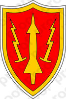 STICKER US ARMY UNIT Air Defense Command SSI
