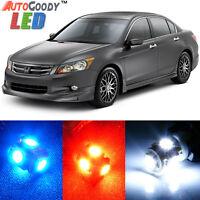 14 x Premium Xenon White LED Lights Interior Package Kit for Honda Accord 03-12