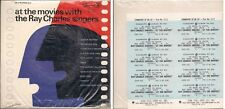 """The Ray Charles Singers at the movies Sealed USA 45 7"""" sgl +Pic Slv +Hip Hop"""