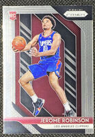 Jerome Robinson 2018-19 Panini Prizm BASE #194 RC Rookie Los Angeles Clippers