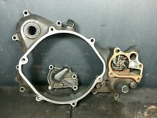 1993 Honda CR250R Right Crankcase Cover Water Pump Cover impeller shaft