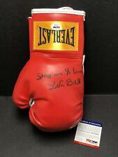 "Lavar Ball Signed Everlast Boxing Glove ""Stay In Yo Lane"" *Lonzo PSA AF25585"