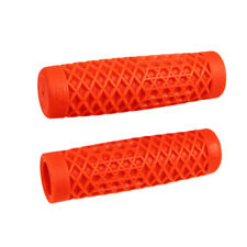 "VANS x ODI 1"" Orange Cult Grips for Harley Motorcycle Bobber Chopper"
