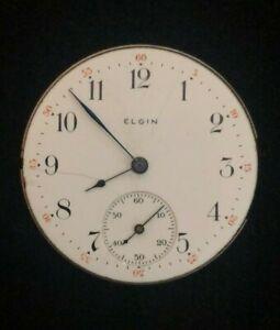 Antique Elgin 1903 Pocket Watch Movement