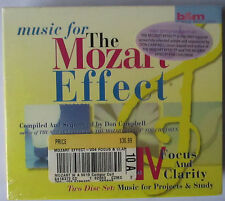 MUSIC FOR THE MOZART EFFECT VOLUME 4 FOCUS & CLARITY 2 CD BOX SET - BRAND NEW