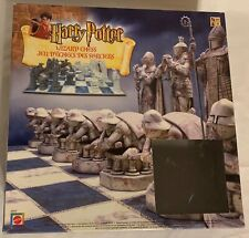 2002 Harry Potter Wizard Chess Set Complete Nice Condition Mattel