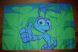 Disney's Pixar 'A Bug's Life' Kids Standard Pillowcase - Double Sided