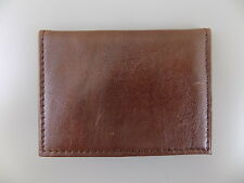 GUESS $75 Brown ID Wallet MEN'S Leather Wallet   C16