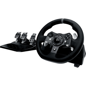 Logitech G920 Driving Force Racing Wheel - For Xbox One and PC