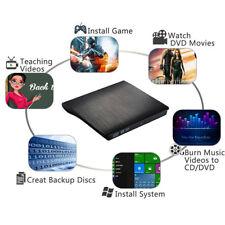 USB 3.0 Mobile External Drive SATA ODD DVD-RW VCD CD-R Burner For Mac 10 OS