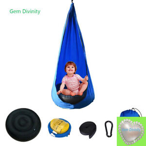 2021 New Outdoor Indoor Garden Sensory Autism Patio Pod Kids Hanging Swing Seats