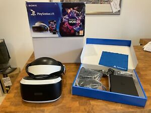SONY Playstation Virtual Reality PS4 PSVR PS VR V2 - HEADSET BUNDLE - FREE DEL!