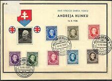 Slovakia, Souvenir sheet 1939